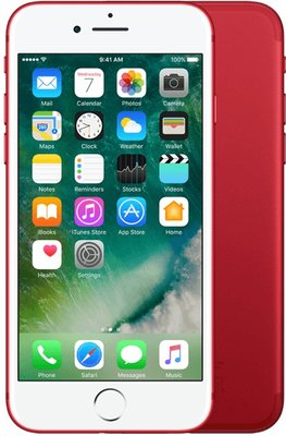 iPhone 7 128GB rood + garantie