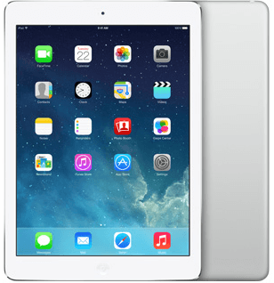 "iPad Air 9.7"" 128GB wit zilver (Dual Core 1.3Ghz - 2048x1536) WiFi (4G) IOS 12 + garantie"