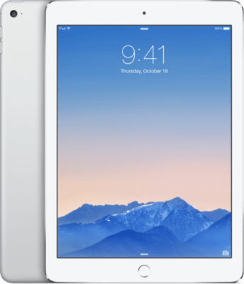 "Apple iPad 9.7"" Air 2 64GB 1.5Ghz (2048x1536) WiFi (4G) wit zilver + garantie"