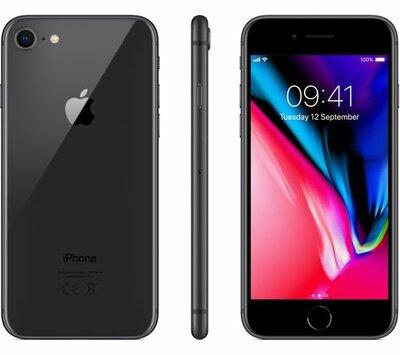 iphone 8 zwart 256GB (6-core 2,74Ghz) (ios 14+) simlockvrij + garantie
