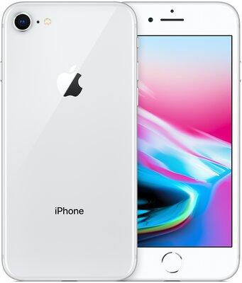 iPhone 8 zilver 256GB (6-core 2,74Ghz) (IOS 14+) simlockvrij + garantie