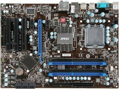 MSI P45 Neo3 DDR3 8x-SATA socket 775