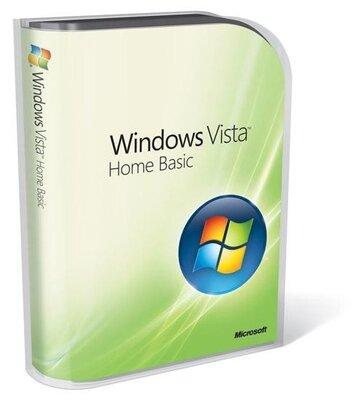 Microsoft Windows Vista Basic installatie Nederlands