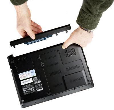 Gebruikershandleiding Laptop accu