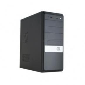 HKC S2 Plus Midi-Tower [ATX, 430W PFC 1x FDD 2x Molex 3x SATA 20+4pin 1x 4pin 120mm fan, Black]