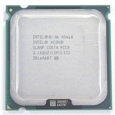 Intel X5460 3.16Ghz 12MB 1333FSB socket 775