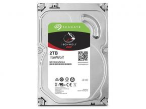 Seagate ST2000VN004 IronWolf NAS HDD [2TB, 3.5 inch, SATA3 6Gbps, 5900 RPM, 180 MB/s, 5W]