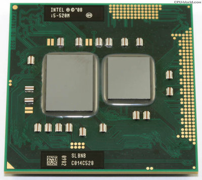 Intel Core i5-520M Turbo 2.93Ghz HD Socket BGA1288, PGA988