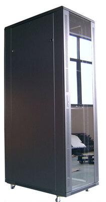 """Gembird 19"""" standaard rack metaal cabinet 42U 600X1000mm, unassembled. Let op, bestel ook deel 2 en 3 van dit rack!"""