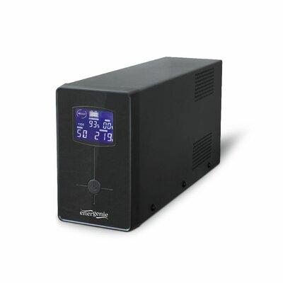 EnerGenie Noodstroomvoeding met LCD, 650 VA