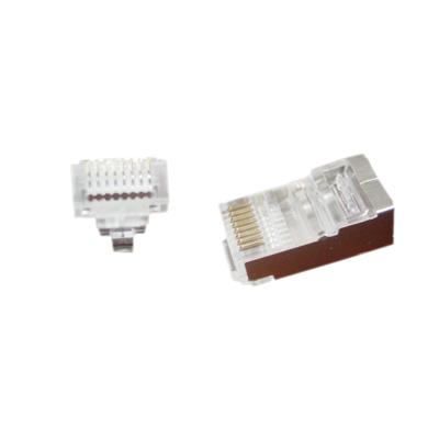 No-name Modulaire FTP RJ45 stekker met doorsteekmontage, 100 stuks per zakje