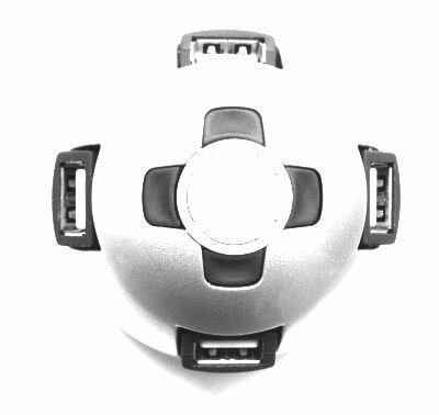 Gembird 4 poorts USB 2.0 hub