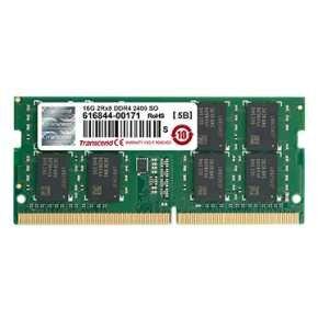 Transcend TS1GSH64V4B DDR4 SO-DIMM [8GB, 2400Mhz, CL17, 1Rx8, 1024Mx8, 1.2v]