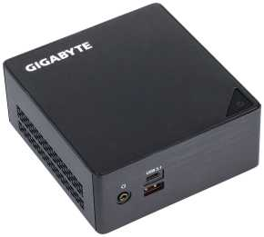 Gigabyte GB-BKi3HA-7100 Brix PC [Core i3-7100U, 2xSO-DIMM DDR4 2133, HD620, USB3.1, HDMI,DP, Black]