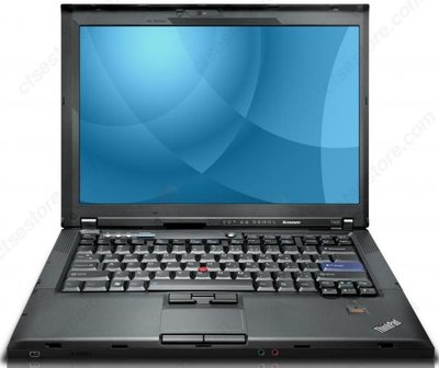 Windows XP laptop Lenovo 14.1 inch Thinkpad T400 2GB 160GB