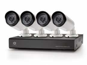 Conceptronic C4CCTVKITD2TB 4-Channel AHD CCTV Surveillance Kit with 2TB WD Purple HD