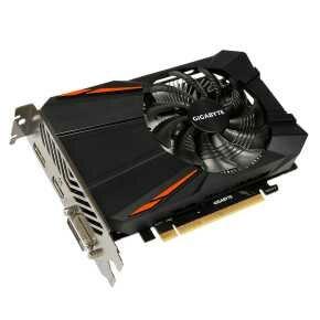 Gigabyte GV-N105TD5-4GD Nvidia GeForce&regcopy; GTX1050Ti OC  [4096MB 128-bit GDDR5 112GB/s, 768sp, 300W]
