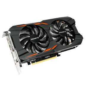 Gigabyte GV-N1050WF2OC-2GD Nvidia GTX1050 WINDFORCE OC [2048MB 128-bit GDDR5 1, 640sp, 5-Phase 300W]