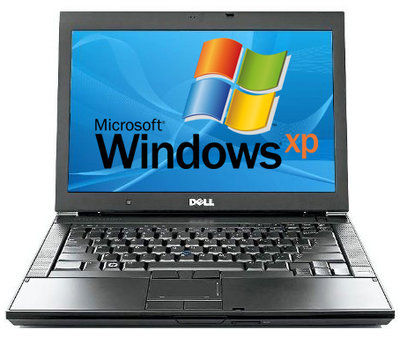 Windows XP laptop Dell Latitude E6500 C2D P8700 2,26Ghz 2GB 100GB 15.4 inch A-Grade