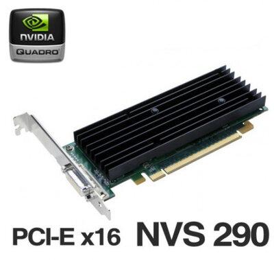 HP videokaart Nvidia Quadro NVS 290 256MB PCI-E