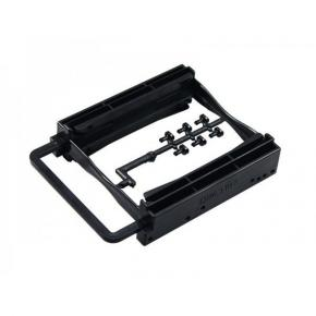 ADJ 120-00002 HDD Easy Clip Bracket AH252 Adapter[3.5 inch Bay, 2x 2.5 inch -> 3.5 inch HDD, Black]