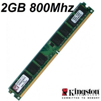 Kingston PC-geheugen 2GB DDR2 PC6400 800Mhz