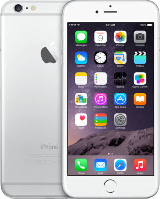 "Apple iPhone 6 64GB 4.7"" wifi+4g simlockvrij white silver + Garantie"