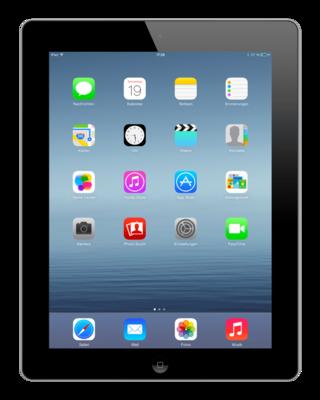 Apple iPad 4 Zwart 64GB Wifi + 4G