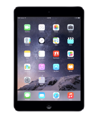 Apple iPad Mini 2 Zwart 128GB Wifi + 4G