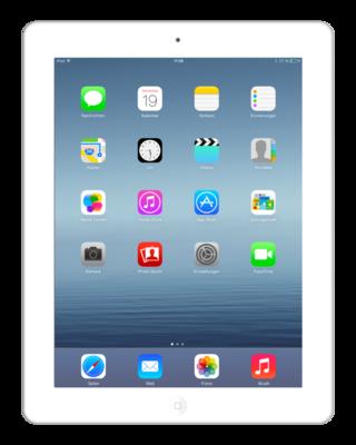 Apple iPad 3 Wit 16GB Wifi (4G) + garantie