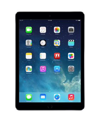 *Gratis standaard* Apple iPad Air Space Grey 16GB Wifi (4G) + Garantie