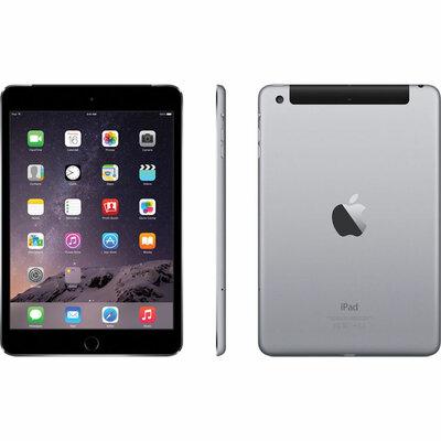 Apple iPad Mini 3 Zwart 64GB Wifi (4G) + garantie