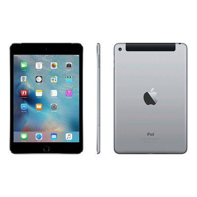 *gratis beschermhoes* Apple iPad Mini 4 Zwart 16GB Wifi (4G)