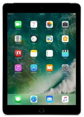 *Outlet* Apple iPad 5 (2017) 32GB Zwart Wifi (4G) + Garantie