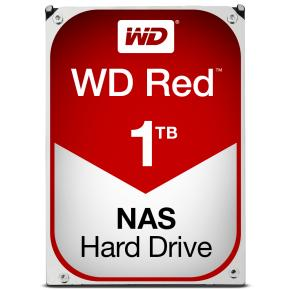 Western Digital WD10EFRX RED NAS HDD [1TB, 3.5 inch, SATA3, 64MB, 5400 RPM, 150 MiB/s, NCQ, 3.3W]