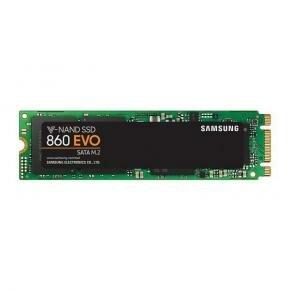Samsung MZ-N6E1T0BW 860 EVO SSD [1TB, M.2, V-NAND, 550/ 520MB/s, 97.000/ 88000 IOPS]