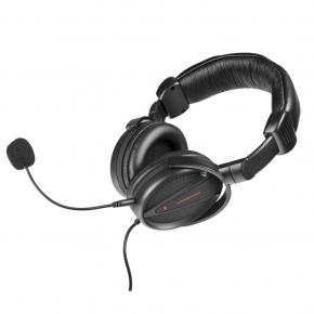* Modecom S-MC-828-STRIKER MC-828 STRIKER HEADPHONES W/ MICROPHONE [3.5mm, 30Hz-16KHz, 108dB, 1.2m]