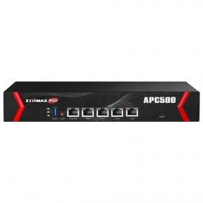 Edimax APC500 wireless ap controller [1x WAN, 3x LAN 10/100/1000Mbps, AP QoS & Load balance, RADIUS]