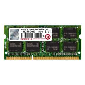 Transcend TS1GSK64W6H DDR3L SO-DIMM [8GB, ,1600Mhz, CL11, 2Rx8, 1.35v]