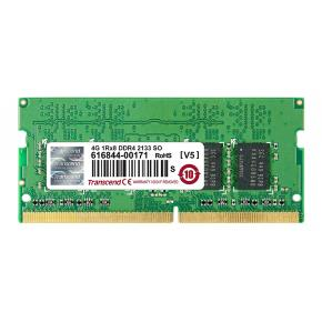 Transcend TS512MSH64V1H DDR4 SO-DIMM [4GB, 2133Mhz CL15, 1Rx8, 1.2v]