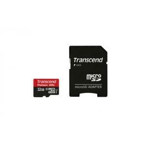 Transcend TS128GUSDU1 Premium MicroSDxC [128GB, FullHD, 60MB/s, UHS-I U1 Class10, Waterproof]