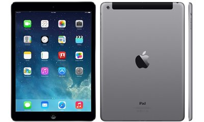 Gratis beschermhoes + Apple iPad Air Zwart 16GB Wifi only