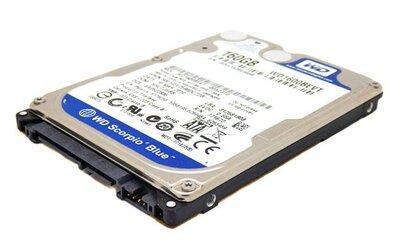Laptop harddisk Western Digital 160GB WD1600BEVT 5400RPM 2.5 inch