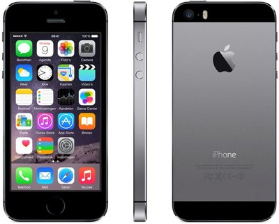 "*Gratis screen protector* Apple iPhone 5s 16GB 4"" simlockvrij Space Gray + Garantie"
