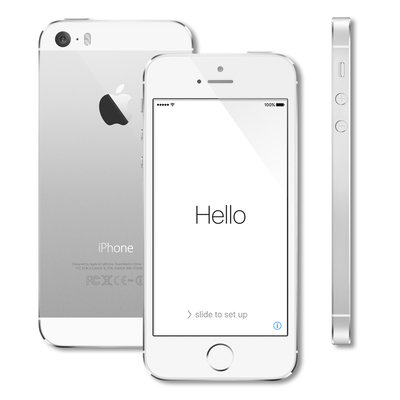 *Big Sale* Apple iPhone 5s 16GB Silver White + Garantie