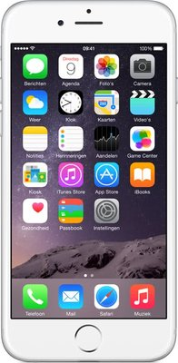 *Nieuwstaat* Apple Iphone 6 16GB White Silver Smartphone A-Grade