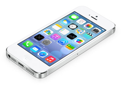 *outlet* Apple iPhone 5s 16GB Silver White 1136x640 1.3Ghz B-Grade (accu defect)