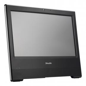 Shuttle X50V6 (black) All-In-One Barebone [15.6 inch Touch, Intel&regcopy; 3865U, 2x DDR4 SO-DIMM, HD610, WiFi]