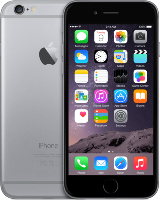 Apple iPhone 6 128GB simlockvrij Space Grey + Garantie