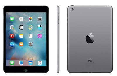 "*Gratis Beschermhoes* Apple iPad Mini 3 128GB 7,9"" Space Grey 2048x1536 WiFi"